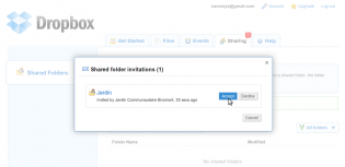 Accept A Folder Sharing Invitation With Dropbox Computriks